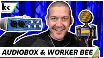 PreSonus AudioBox & NEAT Worker Bee | Setup & Demo