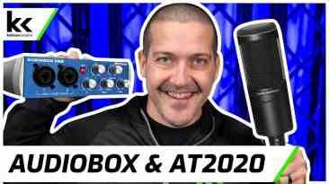 PreSonus AudioBox USB 96 & AT2020   Setup & Demo