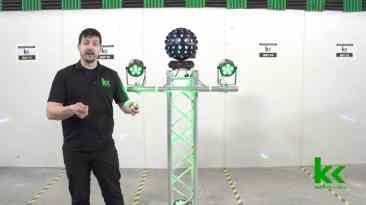 Rotosphere Q3 Disco Ball Simulator Review & Demo