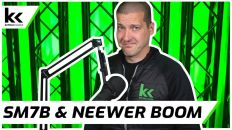 """Shure SM7B and Neewer """"Professional"""" Boom Arm 