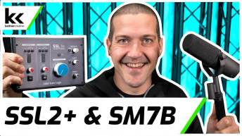 Solid State Logic SSL2+ & Shure SM7B | Setup & Test