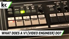 What does a V1 (Video Engineer) do?