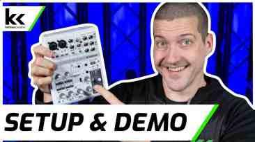Yamaha AG06 Audio Mixer | Setup & Demo