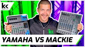 Yamaha vs Mackie