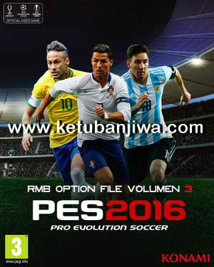 Pes 2016 Ps3 Update : update, Option