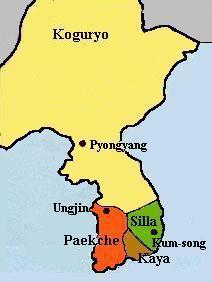Les trois royaumes de Corée