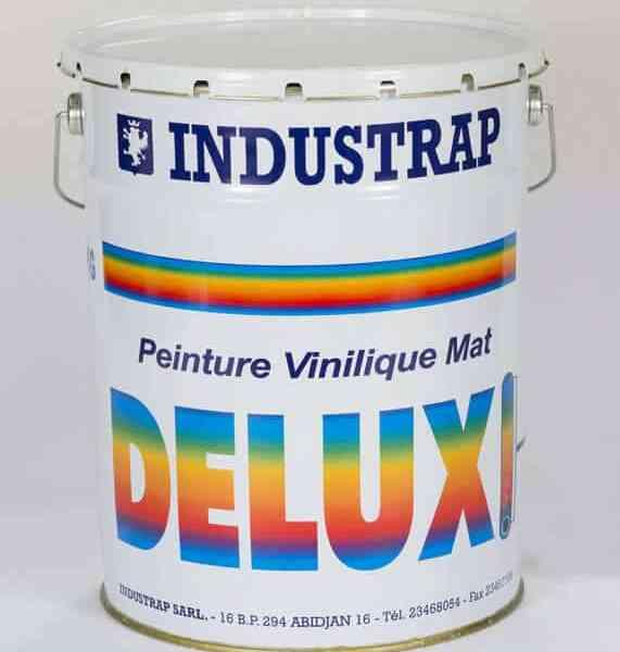 Peinture Vinylique Mat Exterieur Deluxe 30 Kg Kevajo