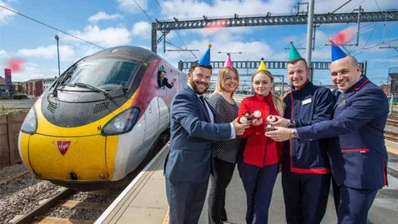 Virgin Trains Hails Record Passenger Increases to Blackpool