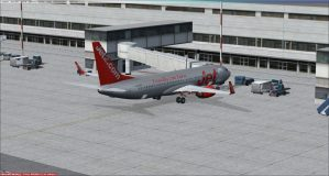 FSX: Birmingham, UK (EGBB) to Girona, Spain (LEGE)