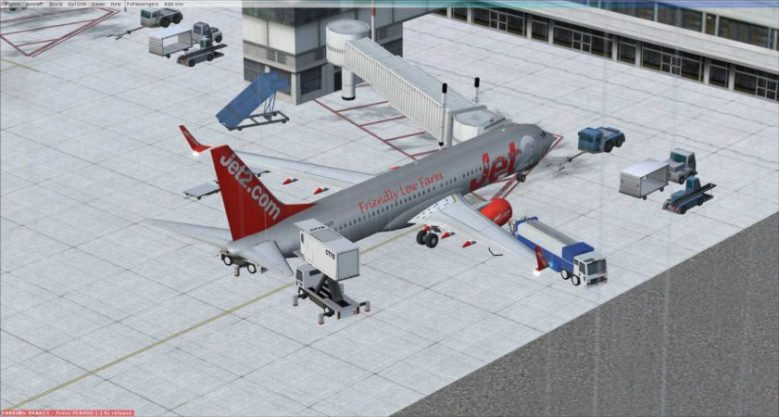 FSX: Jet Boeing 737 from Birmingham to Ibiza and Back Again