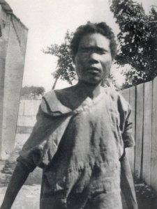 Felicia Felix-Mentor, a megtalálása után pár hónappal