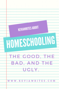 Homeschooling: The Good, The Bad, and The Ugly