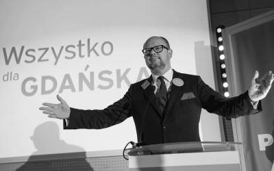 Zmarł Paweł Adamowicz