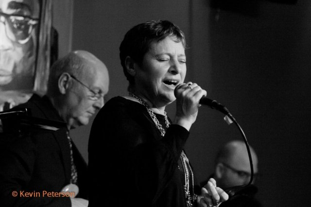 Mary Mass sings with  the Roger Clark Quartet