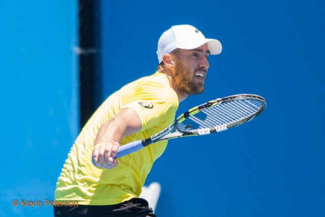 Steve Johnson (USA) vs. Adrian Mannarino (FRA)