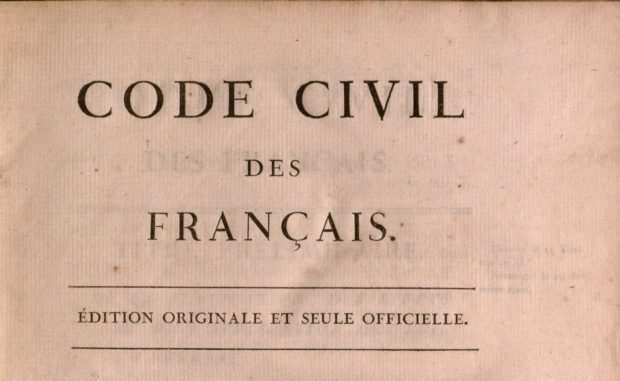 Code civil des Français (Paris: De l'Impr. de la République, 1804) | Yale Law Library, CC BY 2.0