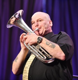 Kevin playing at his 50 Years a Bandsman celebration concert October 5th 2018