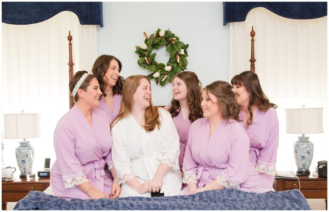 Bridesmaid Wedding Photos at Ashford Acres Inn in Cynthiana, Kentucky.