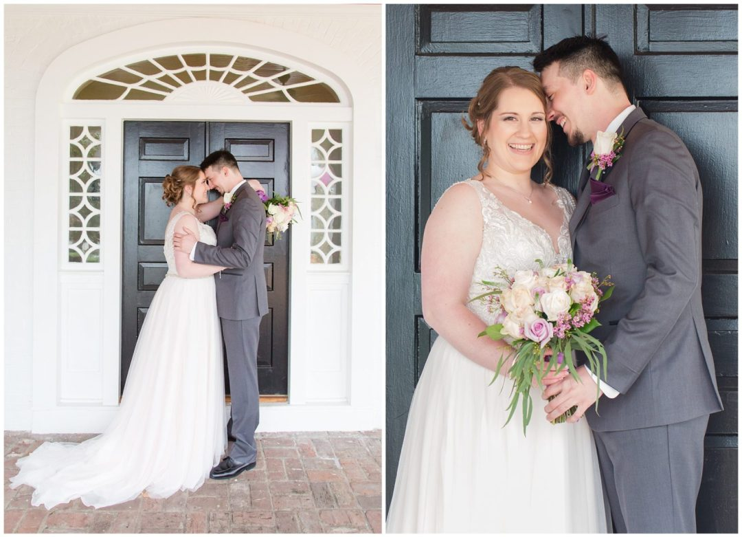 Bride and Groom Wedding Photos at Ashford Acres Inn in Cynthiana, Kentucky.