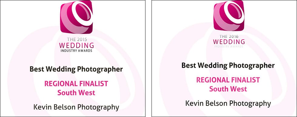 Best wedding photographer - regional finalist
