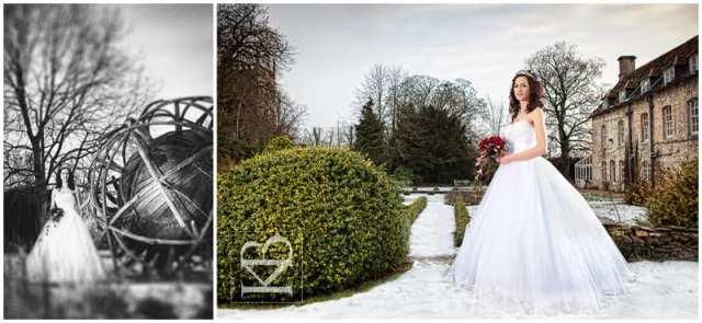 Rectory Crudwell bride