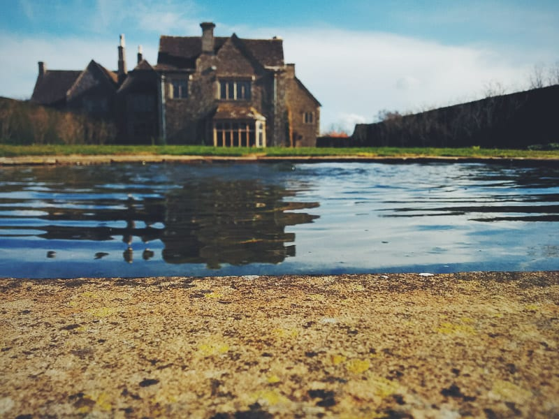 whatley manor pond