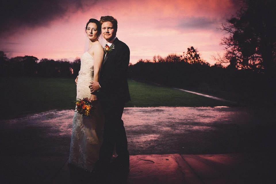 Winter wedding at Kings Weston House