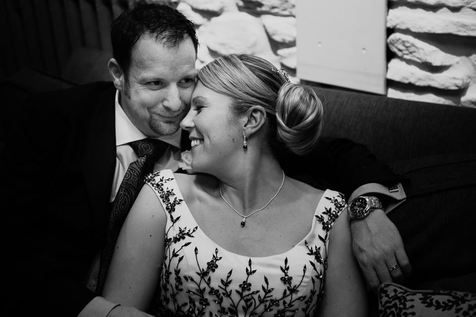 Bride and Groom in Hotel du Vin