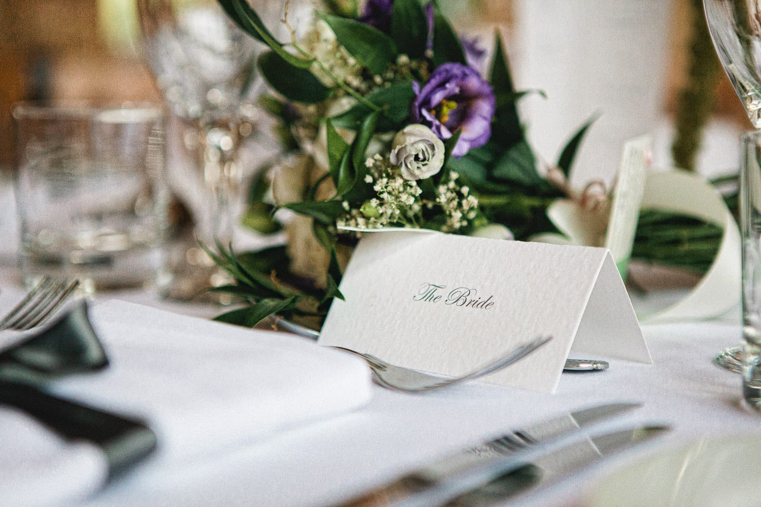 Wedding table places