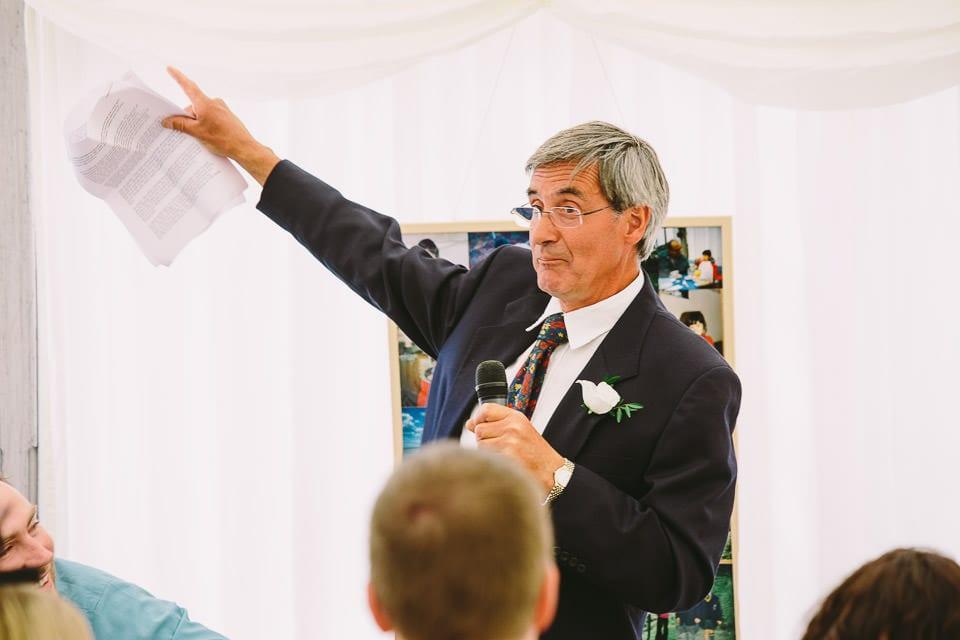 Brides fathers speech