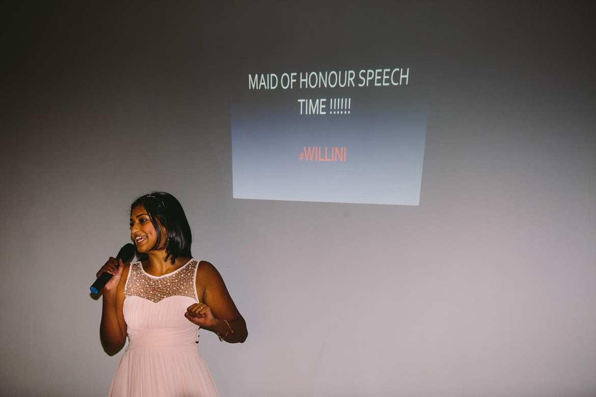 The maid of honour speech