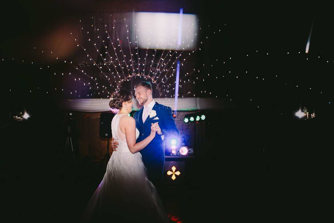 The first dance at the great tythe barn
