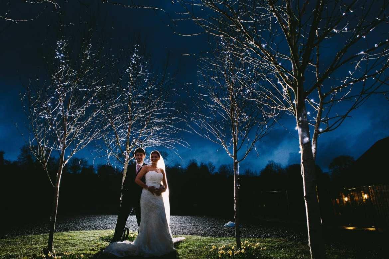 Wedding photography at Kingscote Barn