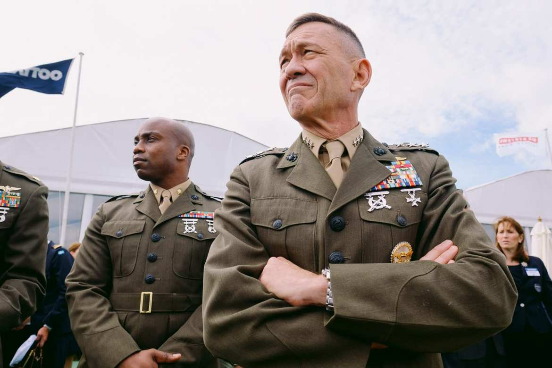 A US Marine General at RIAT