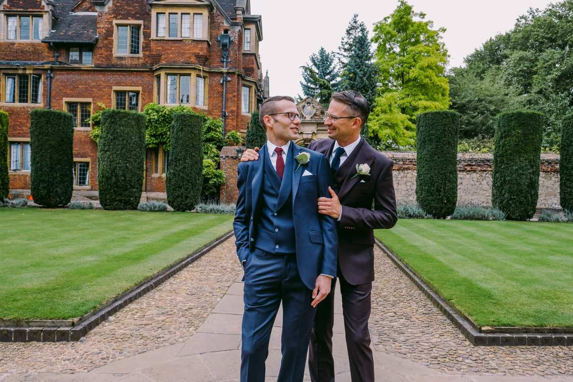 Marriage equality at Pembroke College, Cambridge