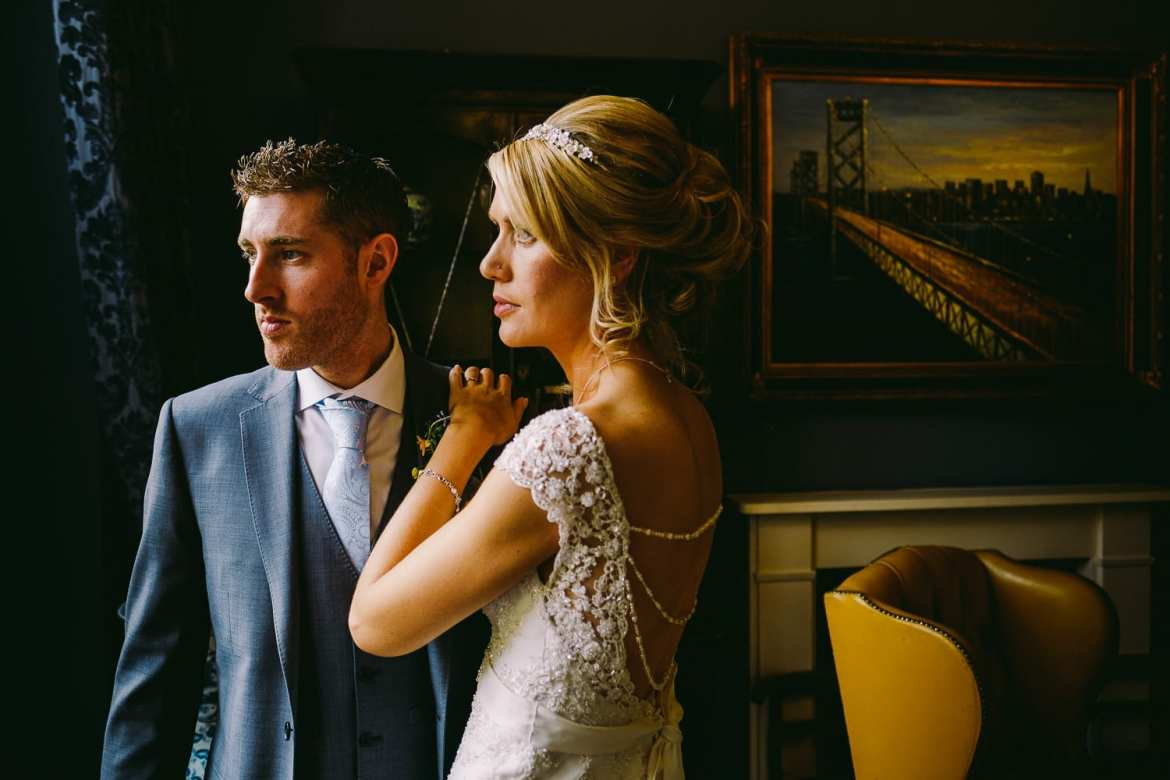 Wedding photography at Old Down Manor