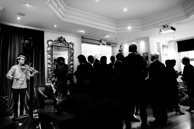 Bristol wedding at The Square Club