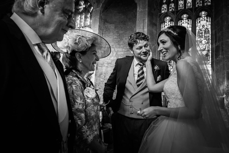 Elegant church wedding