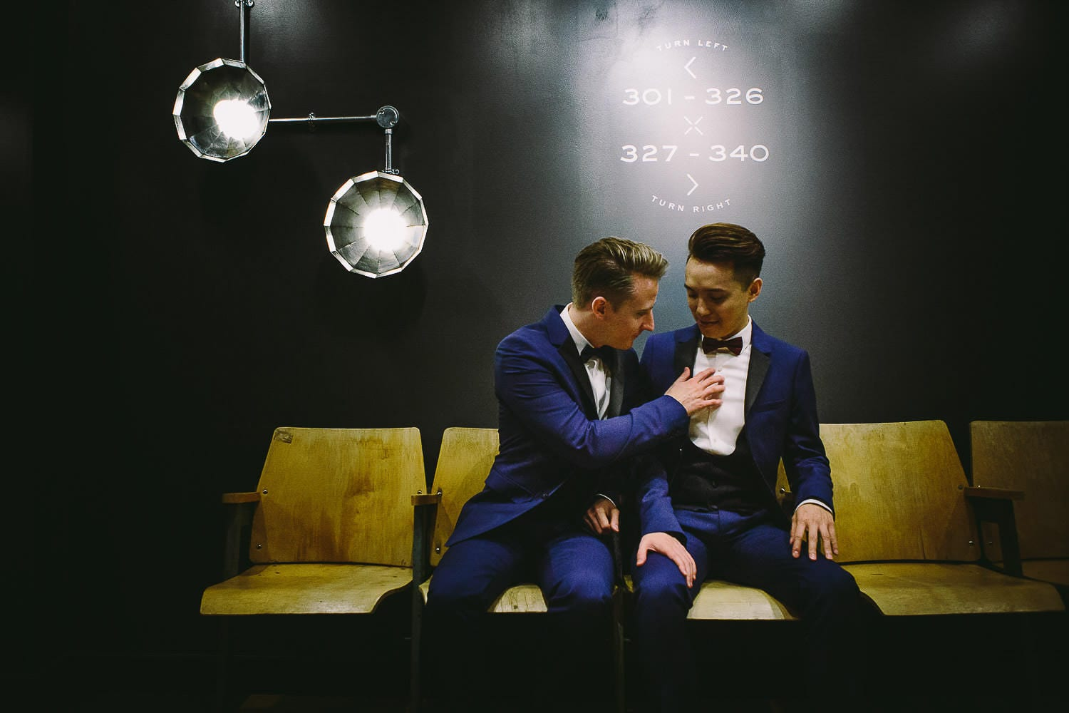 Same sex wedding in London