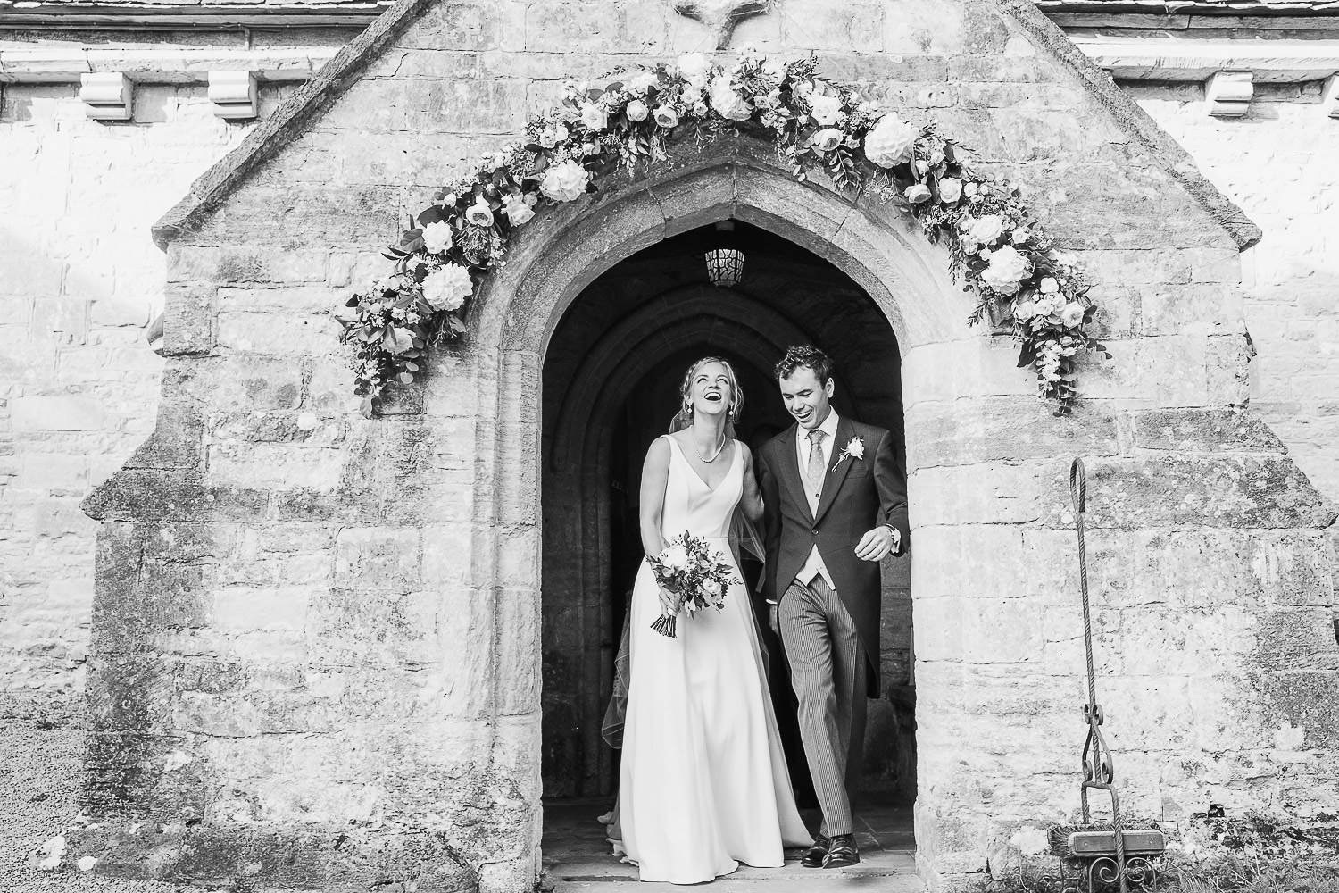 Newlyweds at Cowley Church