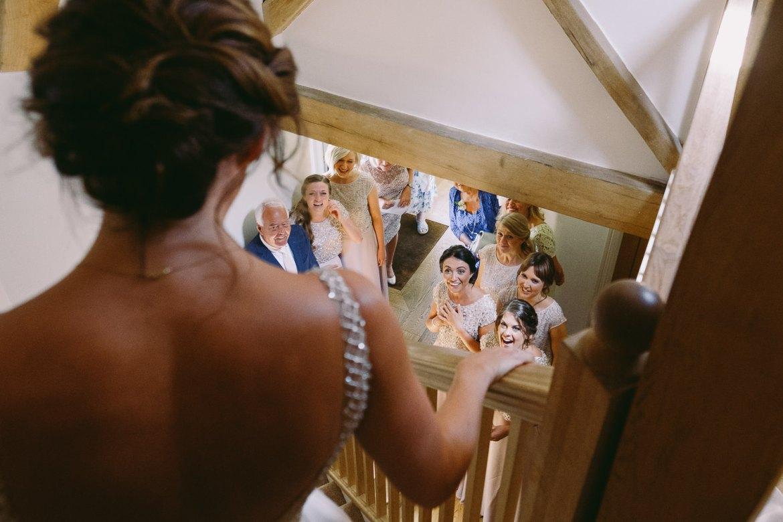 Kingscote Barn wedding photographer