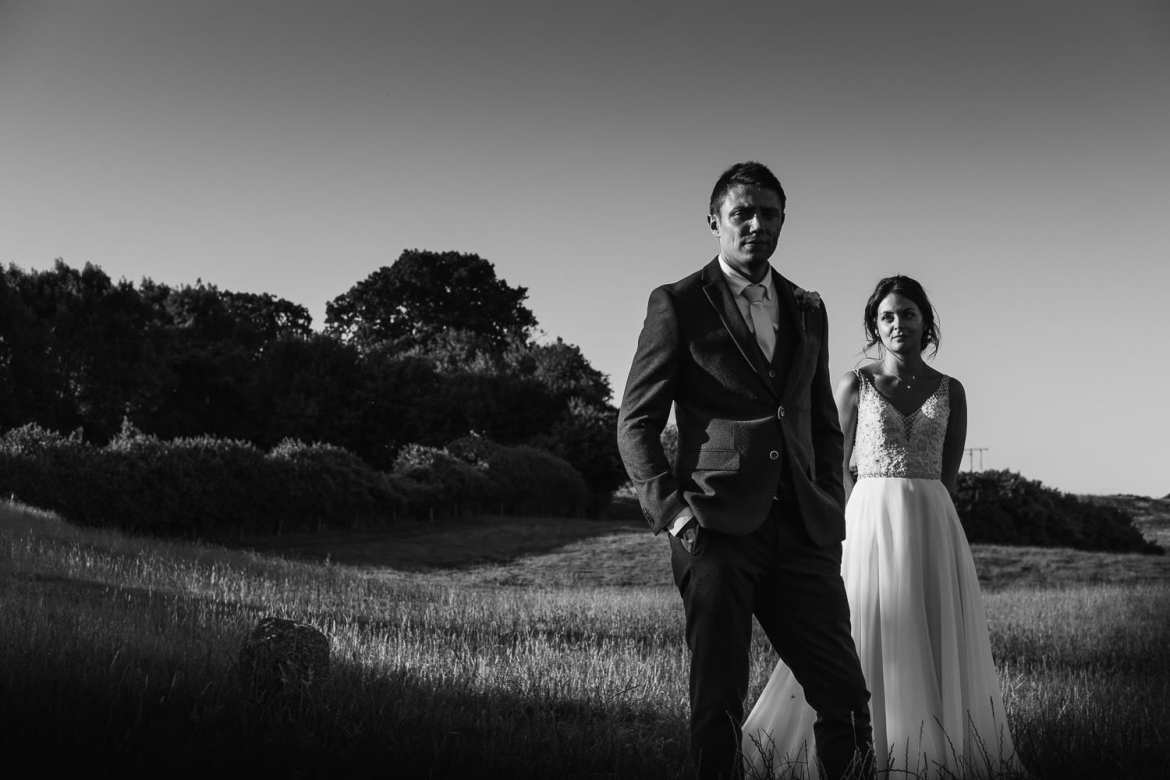 Summer wedding at Kingscote Barn