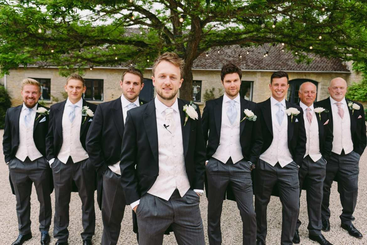 The groom and best men
