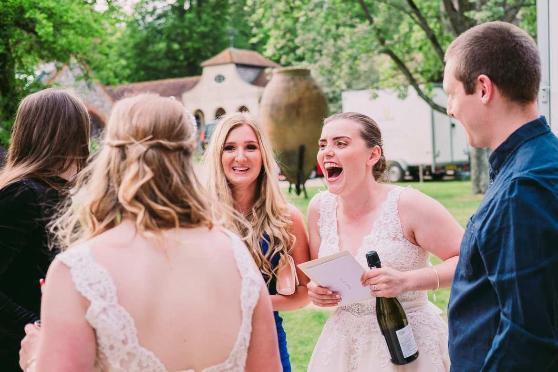 same sex wedding at Rockley Manor