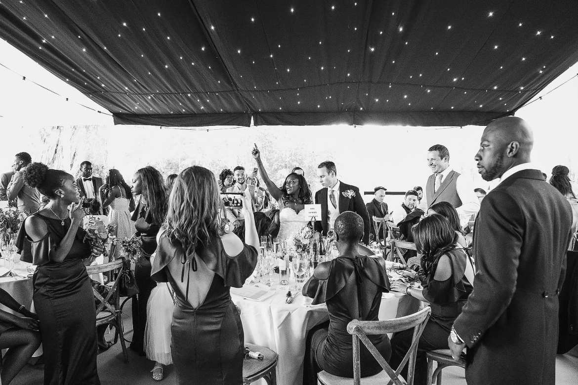 Wiltshire Garden Marquee wedding
