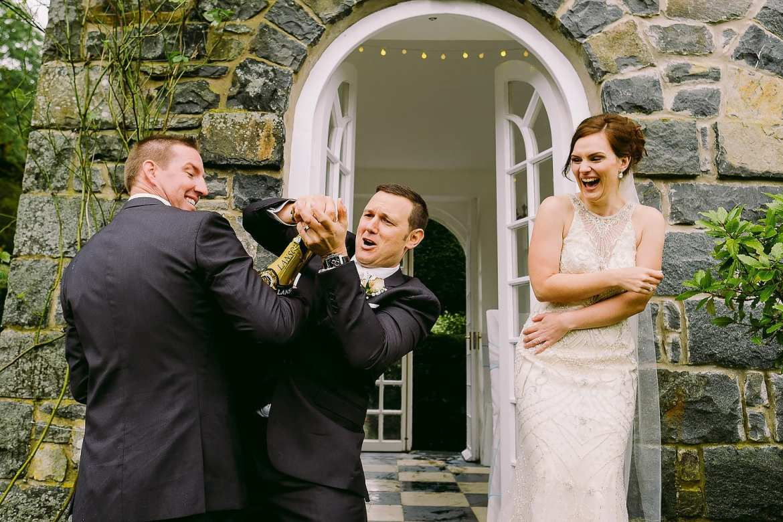 dramatic snowdonia wedding
