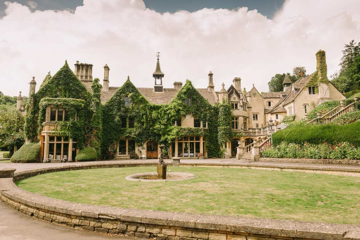Manor House Castle Combe wedding photography