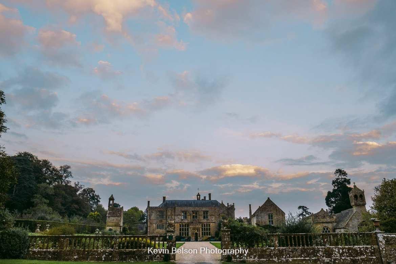 brympton house at sunset