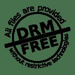 'DRM Free' logo