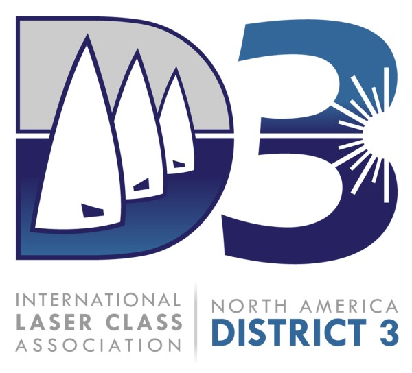 International Laser Class Association District 3 Logo